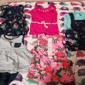 Other - 5 Piece Size 12 Months Rompers Etc Bundle